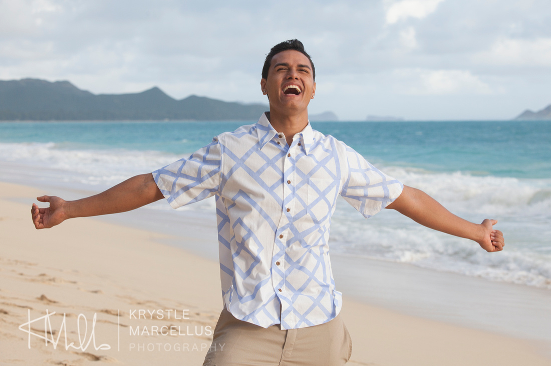 Modeling Portfolio Waimanalo beach Portrait